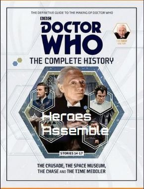Doctor Who The Complete History Volume #11 Collectors Hardback Book Hachette Partworks